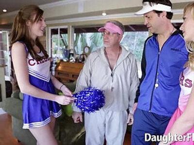 Alexa Grace and Molly Manson Traded | -cheerleader-