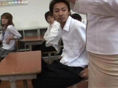 My teacher gets gangbanged | -creampie-gangbang-teacher-