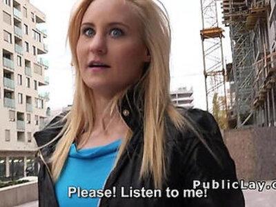 After takes money blonde bangs in hotel | -banged-blonde-hotel-money-