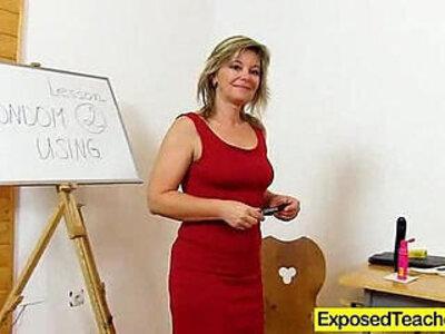 Exposed teacher digging deep | -classroom-teacher-