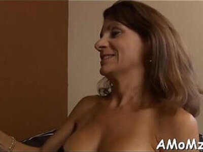 Sexy mom gets pleasure of schlong | -mom-pleasure-sexy-