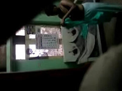 Spy camera of tamil aunty after bath dressing   -aunty-bathroom-hidden-tamil-
