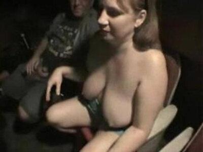 A night at the theater   -bukkake-