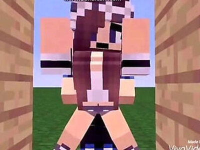 Sex a Girl in Minecraft Animation | -animation-girl-old man-
