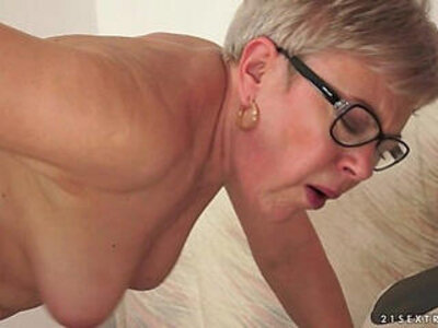 Grandma Ursula Fucked by a young stud | -grandma-older woman-young-