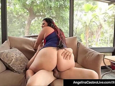 Curvy cuban angelina castro takes black hard long cock in her box | -bbc-black-boy-cock-curvy-girl-