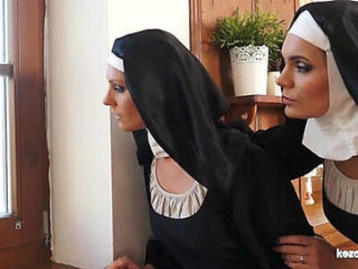 Catholic nuns and the monster! Crazy monster and vaginas! | -crazy-monster cock-