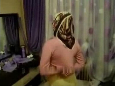 Arab Turkish girl masturbating with hijab turban being masturbated | -arab-masturbation-turkish-