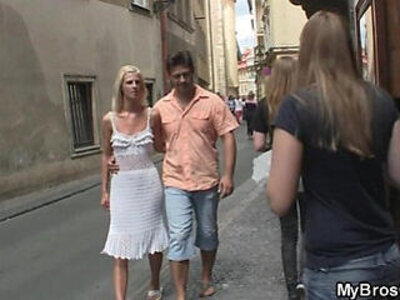 Czech blonde cheats him with his brother | -blonde-brother-cheating-czech-