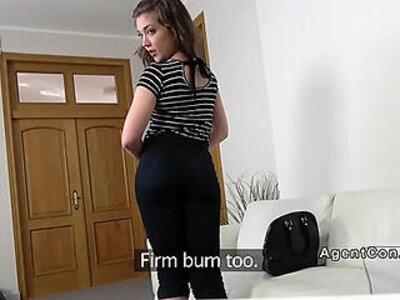 Small tits brunette sucks and fucks fake agent | -agent-brunette-small tits-