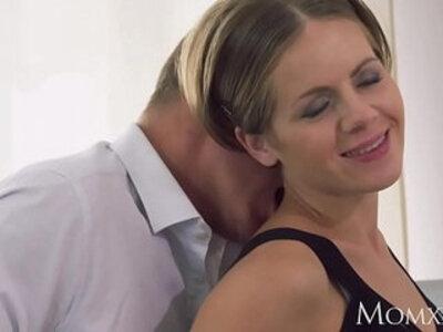 MOM Intimate lovers sensual creampie | -creampie-mom-sensual-