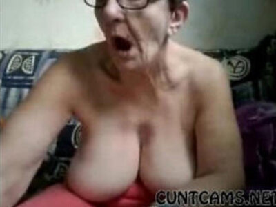 Old mature granny plays with herself in retirement home on webcam | -granny-homemade-mature-older-webcam-