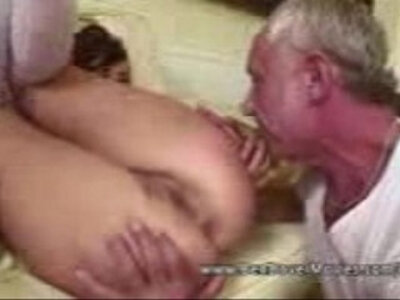 Asslicking 18 years Old with Grandpa | -18 years old-ass licking-cum swallow-grandpa-