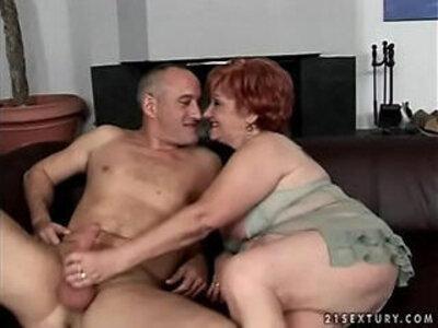 Super granny Justina | -granny-older woman-
