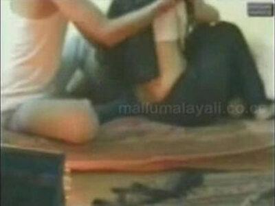 Young couple hidden romance | -aunty-couple-hidden-young-