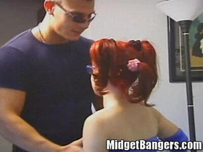 Twidget The Midget Gets Caught Turning Secret Tricks | -caught-german-midget-