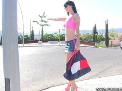 Hot Hitchhiker With Perfect Ass   -ass-hitchhikers-perfect-