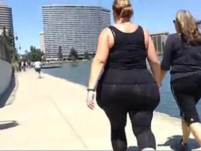 huge white bbw candid spandex ass walk | -ass-bbw-spandex-white chick-