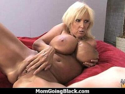 Big tits in white cougar in stockings fucks black guy | -big tits-black-cougar-gay-monster cock-stockings-