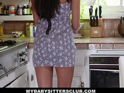 MyBabySittersClub Hot BabySitter Becomes Fulltime Sexsitter   -babysitter-