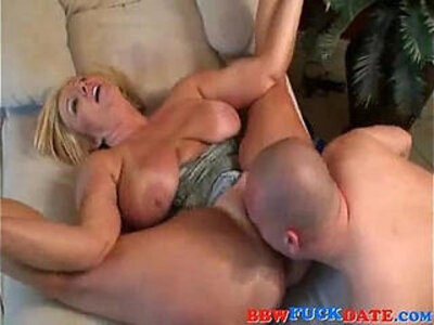 Chubby Blonde BBW Bouncing and Moaning   -bbw-blonde-chubby-moaning-