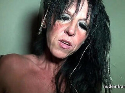 Big boobed amateur french mom hard banged in a sex shop basement | -amateur-banged-european-french-old man-shop-