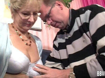 Busty german milf gets nailed | -bdsm-busty-german-granny-