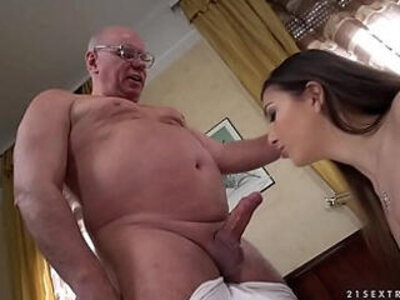 Old prof seduces younger student anya krey | -old and young-old man-older-seduction-students-