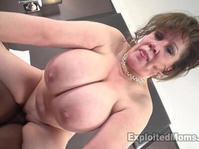 Cougar Does her First Interracial Black big Cock Video | -big cock-black cock-black woman-cougar-first time-interracial-