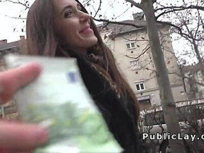 Russian babe flashing panties in public | -flashing-panties-public-russian-