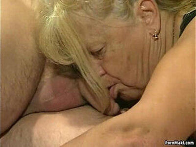 Two granny get fucked in foursome action | -4some-action-granny-
