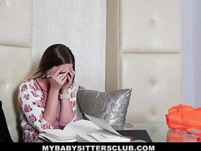 MyBabySittersClub Horny skinny Blonde BabySitter Fucks Boss | -babysitter-blonde-boss-horny-skinny-
