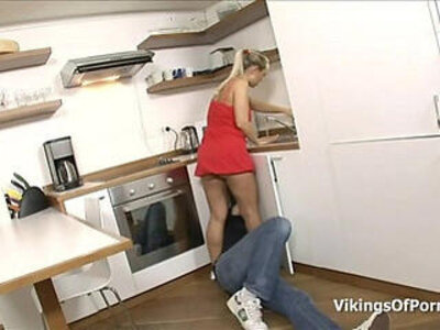 Fucking My Stepsis In the Kitchen Sink | -kitchen-stepbrother-stepsister-