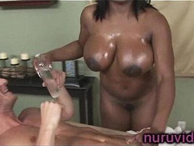 Busty ebony Jada Fire gives awesome cock massage | -awesome-busty-cock-ebony-massage-