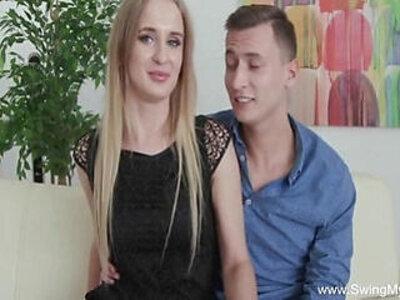 Pale Blonde Czech MILF Tries Swinging | -blonde-czech-swingers-