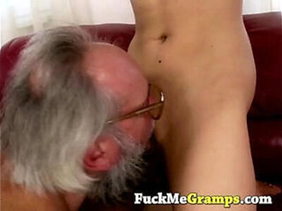 Grandpa gets really lucky | -grandpa-old and young-