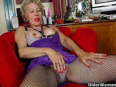 American gilf Cristine needs masturbation for starters   -american-gilf-masturbation-
