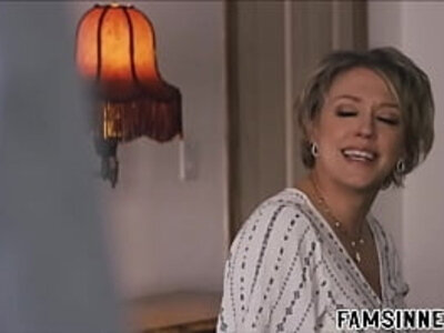 the shy son and the busty mom   -busty-shy-son-