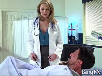 Horny Patient brooke wylde Get Sex Treatment From Doctor clip | -doctor-horny-old man-