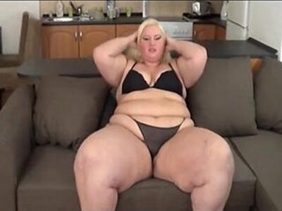Big Booty SSBBW White Gets Fat Ass Worked | -booty-huge ass-white chick-