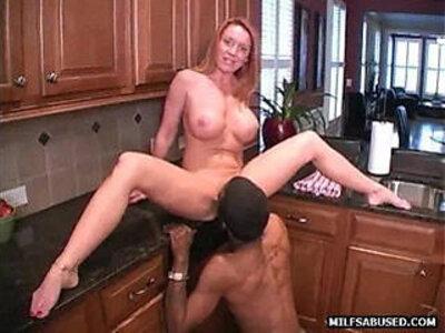 A sexy amateur blonde milf is sucking a big black huge cock | -bbc-black-blonde-huge cock-milf-sexy-