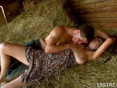 Couple bangs hard on mow | -banged-couple-