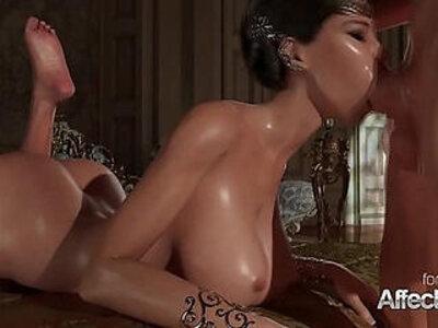 Princess oral and sexy blonde anal fuck | -anal-animation-blonde-oral-princess-