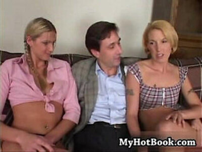 Ashley long and fiona cheeks sit on a couch as the | -couch-family-