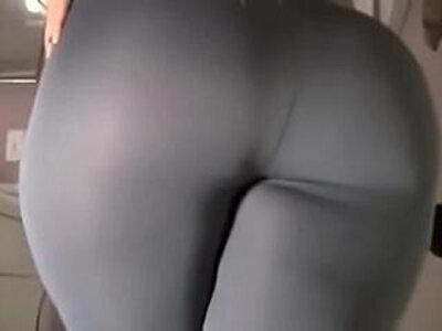Spicy J yoga pants tear dildo ride | -dildo-riding-yoga-