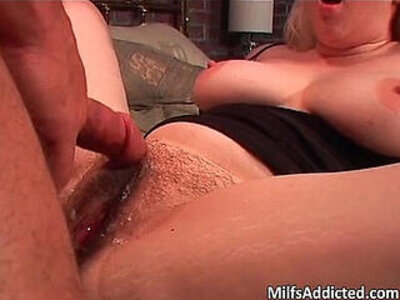 Blonde hairy bitch riding dick on the | -bitch-blonde-dick-hairy-mother-riding-