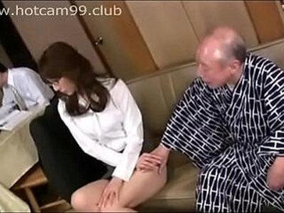 Grandpa threats for sex | -grandpa-old man-