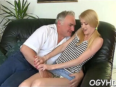 Hot young honey screwed by old guy | -gay-honey-older-orgasm-young-