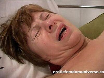 Horny grandma is in love with pink dildo | -dildo-grandma-horny-love-