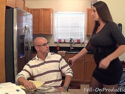 Madisin lee in milf mom helps son with his term paper blue balls | -balls-family-milf-mom-son-